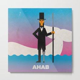 Ahab Metal Print