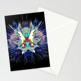 Light Butterfly Explosion Stationery Cards