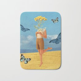 Summer print Bath Mat