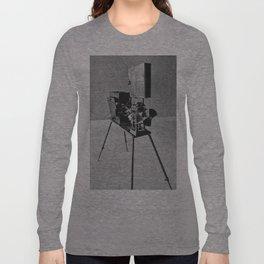 Vintage Cinema Camera Long Sleeve T-shirt