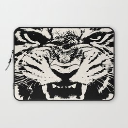 White Tiger Vector Laptop Sleeve