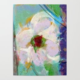 Pink Rose of Peace Poster