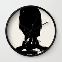 avatar Wall Clocks featuring Avatar by Visualcrafter