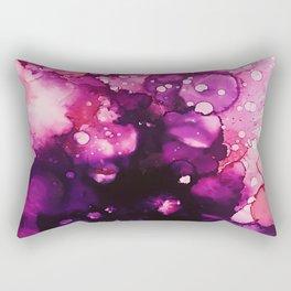 Abstract Florals - Alcohol Inks Rectangular Pillow