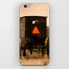 Amish Buggy Rural Country Road iPhone Skin