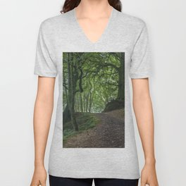 Into Blackbrough Woods Unisex V-Neck