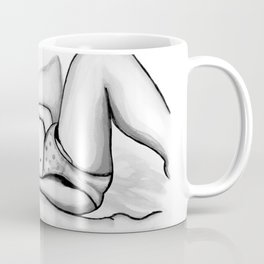 How to Love Yourself - Erotic Art Illustration Nude Sex Sexual Love Selflove Selfpleasure Drawing Coffee Mug