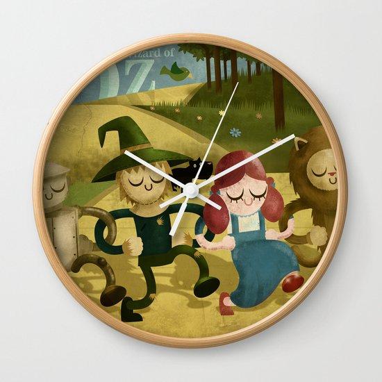 Wizard of Oz fan art Wall Clock