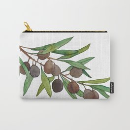 Olive leaf Carry-All Pouch