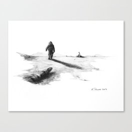 EOD Canvas Print