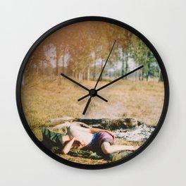 Random circumstance. Wall Clock