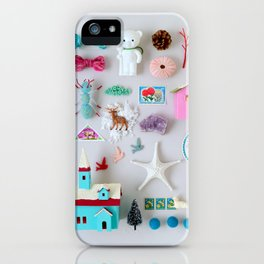 Winter Miniature Wonderland iPhone Case