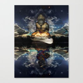 The Mirrored Surface Canvas Print