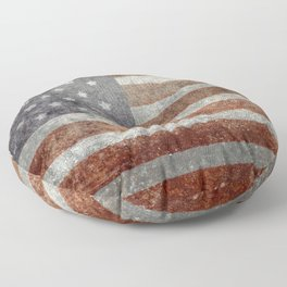 Old Glory, The Star Spangled Banner Floor Pillow