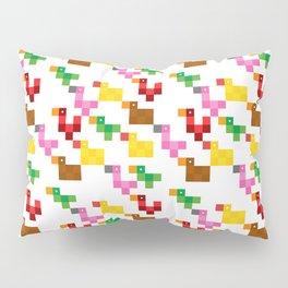 Pixel by pixel – The Birdy Bunch I Pillow Sham