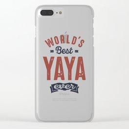 Yaya Clear iPhone Case