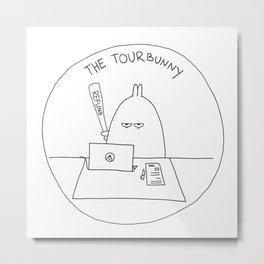 The TourBunny - Refund Metal Print