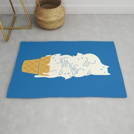 Cats Ice Cream Rug