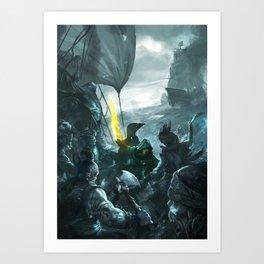 LW 02 Art Print