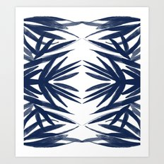 Phoenix Palm Leaves Art Print