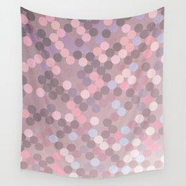 Polka Dots Geometry Wall Tapestry