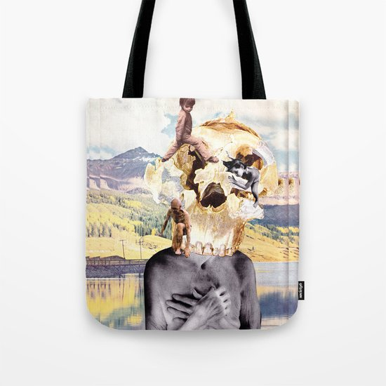 About-face Tote Bag