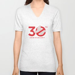 30th Anniversary - Ghostbuster Funny30th Anniversary - Ghostbuster Funny Unisex V-Neck