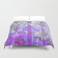 politics Duvet Covers featuring Old Soul by Aaron Carberry