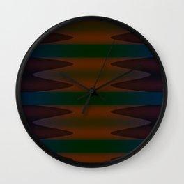 Inward Waves 2 Wall Clock