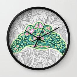 Tortuga Trippy Tortoise Wall Clock