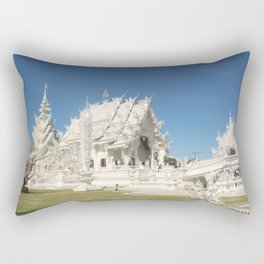 The Majestic White Temple Rectangular Pillow