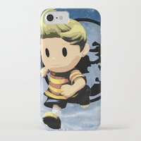 lucas david iPhone & iPod Cases featuring Lucas by ScoDeluxe