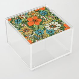 70s Plate Acrylic Box