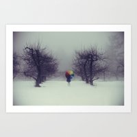 Trapped in Wonderland Art Print