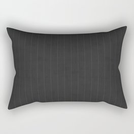 Art Deco Pin Stripe Rectangular Pillow