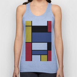 Abstraction color Unisex Tank Top