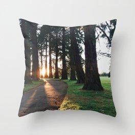 Autumn vibes Throw Pillow