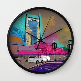 Nashville Life Wall Clock