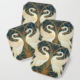 Walter Crane Swan, Rush And Iris Coaster