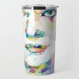 MARIA CALLAS - watercolor portrait.10 Travel Mug