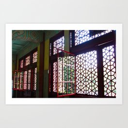 Portals; China Art Print