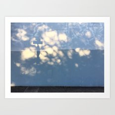 Cloud Shadows Art Print