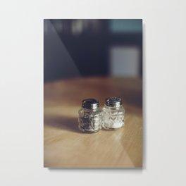 SALT & PEPPA Metal Print