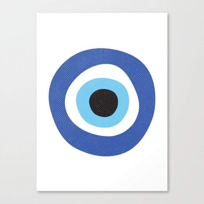 Evi Eye Symbol Canvas Print By Inogitna Society6