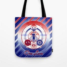 One Love (Patriot) Tote Bag