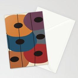 Big Artsy Circles Stationery Cards