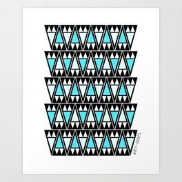 Sky Arrowheads Art Print