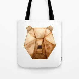 Geo Series - Bear Tote Bag