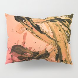 Calm and Fiery Abstraction Pillow Sham