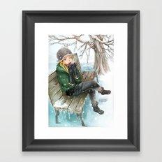 Hot Chocolate Framed Art Print